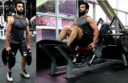Rutina de ejercicios con y sin pesas para pierna, deltoides y trapecio