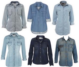 68e4dc673c Muitas pessoas se prendem as camisas jeans apenas no inverno, mas elas ja  virarão tendência para o verão, pois existem vários modelos de camisas e ...