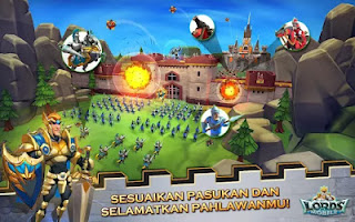 Lords Mobile MOD APK v1.26 (Unlimited Money) Terbaru