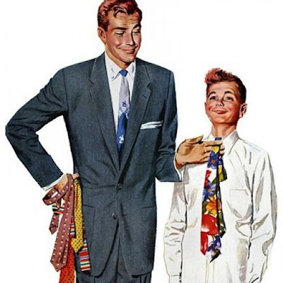 9. FOR TIES, COLORS AND MATCHING PATTERNS IS KEY