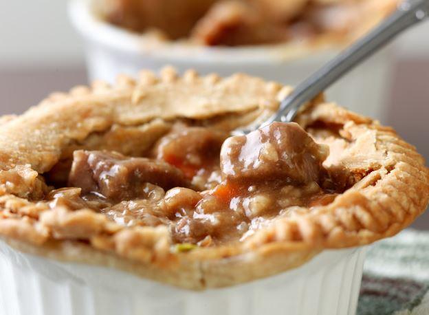 Personal Turkey Pot Pies keto recipe