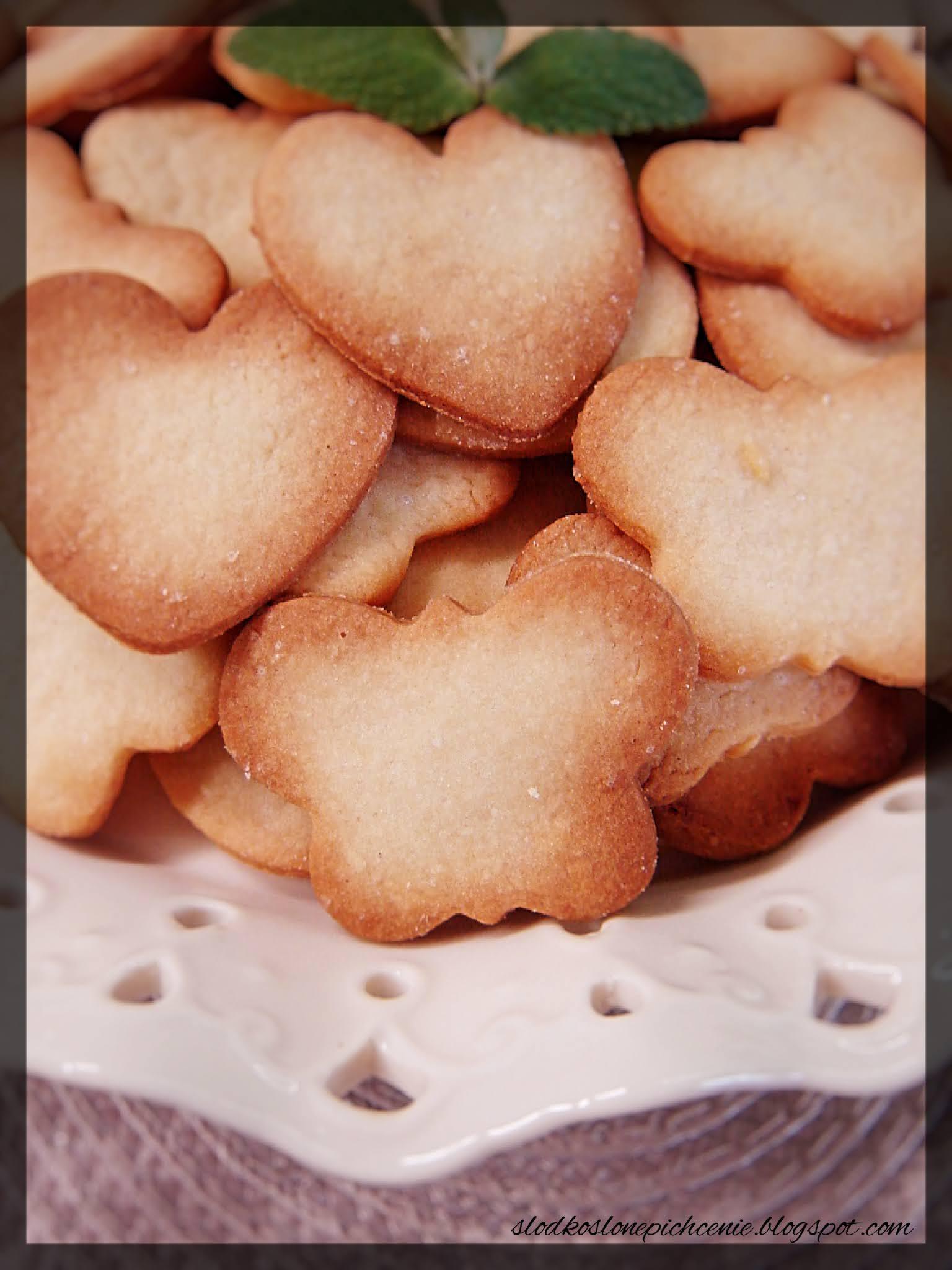 Kruche ciasteczka śmietankowe