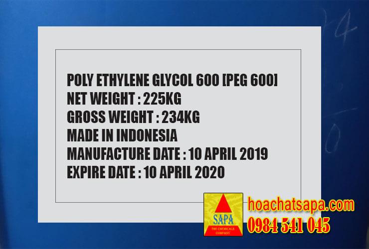 Polyethylene Glycol | PEG 600