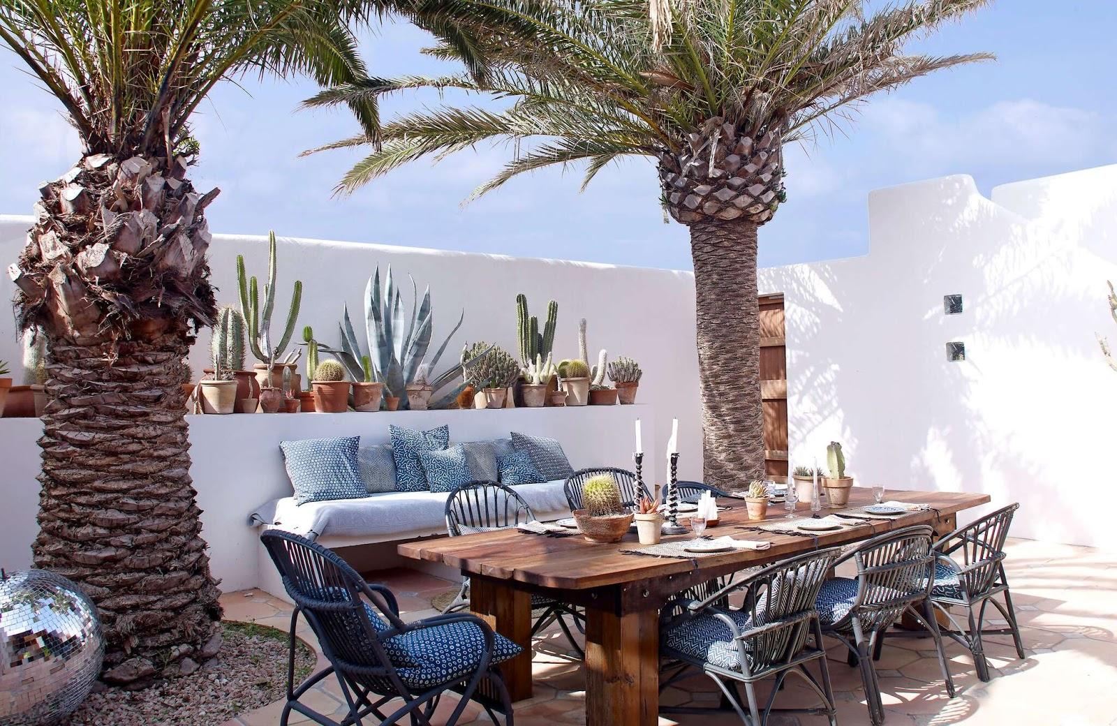 Jade Jagger's island paradise in Formentera, Spain
