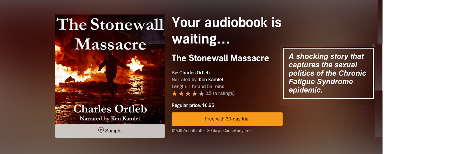 Stonewall Audible