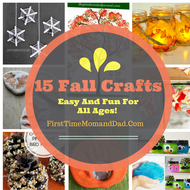 15 Fall + Halloween Crafts So Easy, Your Husband Will Help
