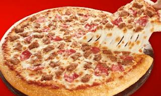 large pizza deals at Pizza hut
