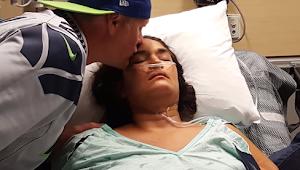 Wanita Hidup kembali setelah suaminya berteriak kepada Yesus