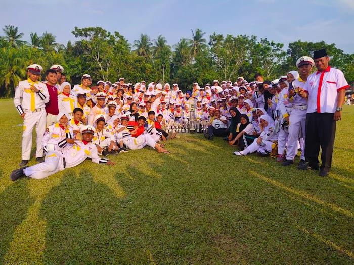SMK N1 Kisaran Juara Umum Jambore ke V 2020 Patroli keamanan  Sekolah se Kabupaten Asahan
