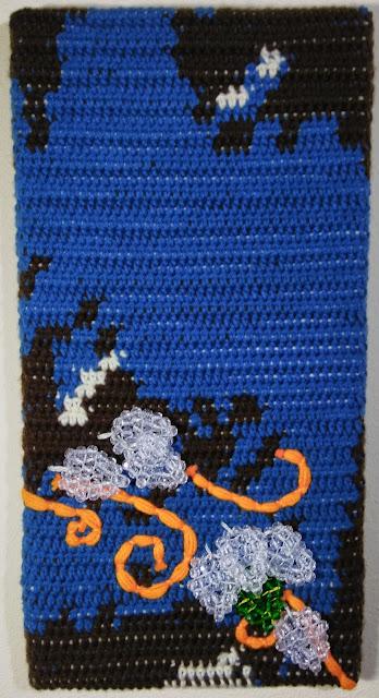 Hopelessness - Self Talk: Bipolar Panel 2 Fine Art Tapestry by Jen Ten Art