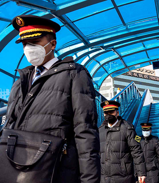 Surto de coronavírus é pretexto para reforçar a ditadura policialesca