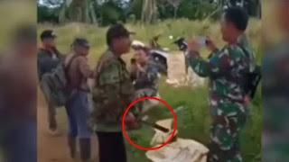 Dimaki dan Diancam Dibunuh Pakai Parang, 2 Prajurit TNI Hanya Senyum
