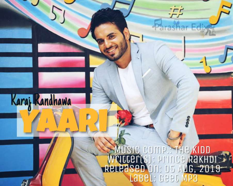 KARAJ RANDHAWA | Yaari Mp3 Song Download on mr jatt | Yaari