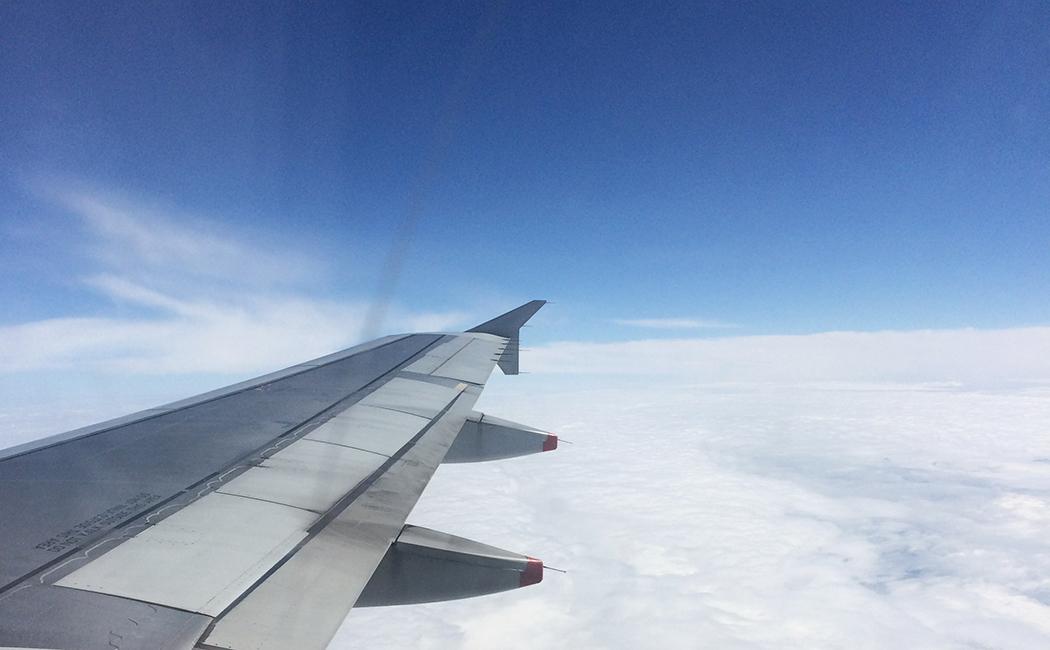 Dans l'avion JetairFly
