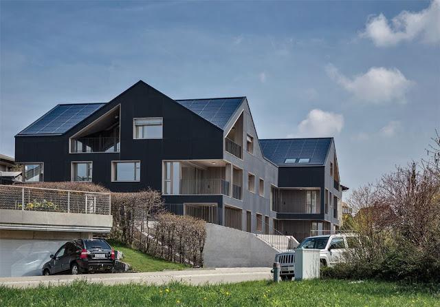 Prima casă multifamilială independentă energetic