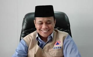 Kepala Pelaksana Badan Penaggulangan Bencana Daerah (BPBD) NTB, H. Ahsanul Khalik