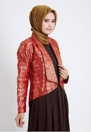 Model Baju Batik Remaja Muslimah Terbaru