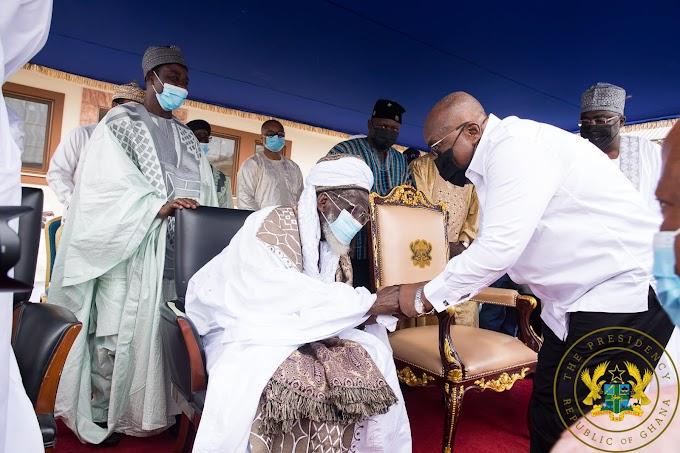Emulate the life of Chief Imam – Akufo-Addo tells Muslims