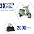 Concurs Peroni - Kaufland - Castiga 3 scutere Vespa + voucher de 650 lei