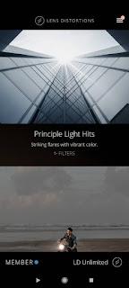 تحميل برنامج Lens Distortions مهكر آخر إصدار للأندرويد.