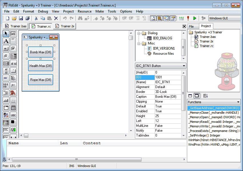FreeBasic for Windows full Windows 7 screenshot - Windows 7 Download
