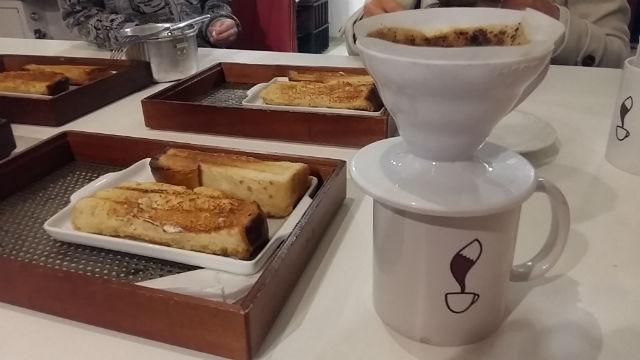 Método Hario V 60 com torradas Coffee Lab
