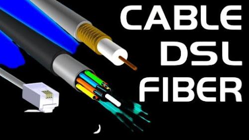 DSL CABLE FIBER