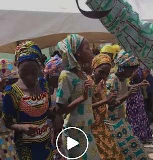 Videos/Photo Of Chibok Girls Dancing In Jubilation As The Meet Parents At Thanksgiving Service