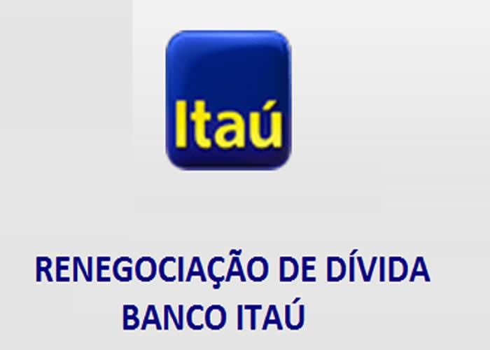 Renegociação de Dívidas com o Itaú