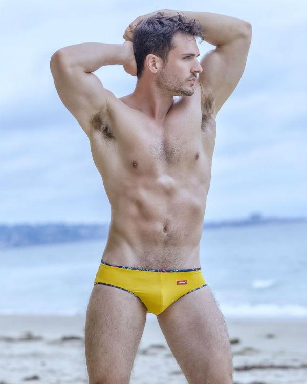 Philip Fusco Strips for HUNK² Underwear