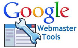 Contoh gambar webmaster tools