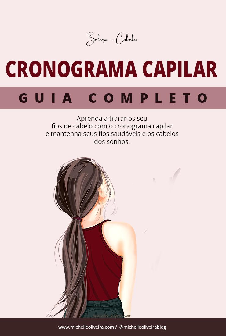 GUIA DO CRONOGRAMA CAPILAR
