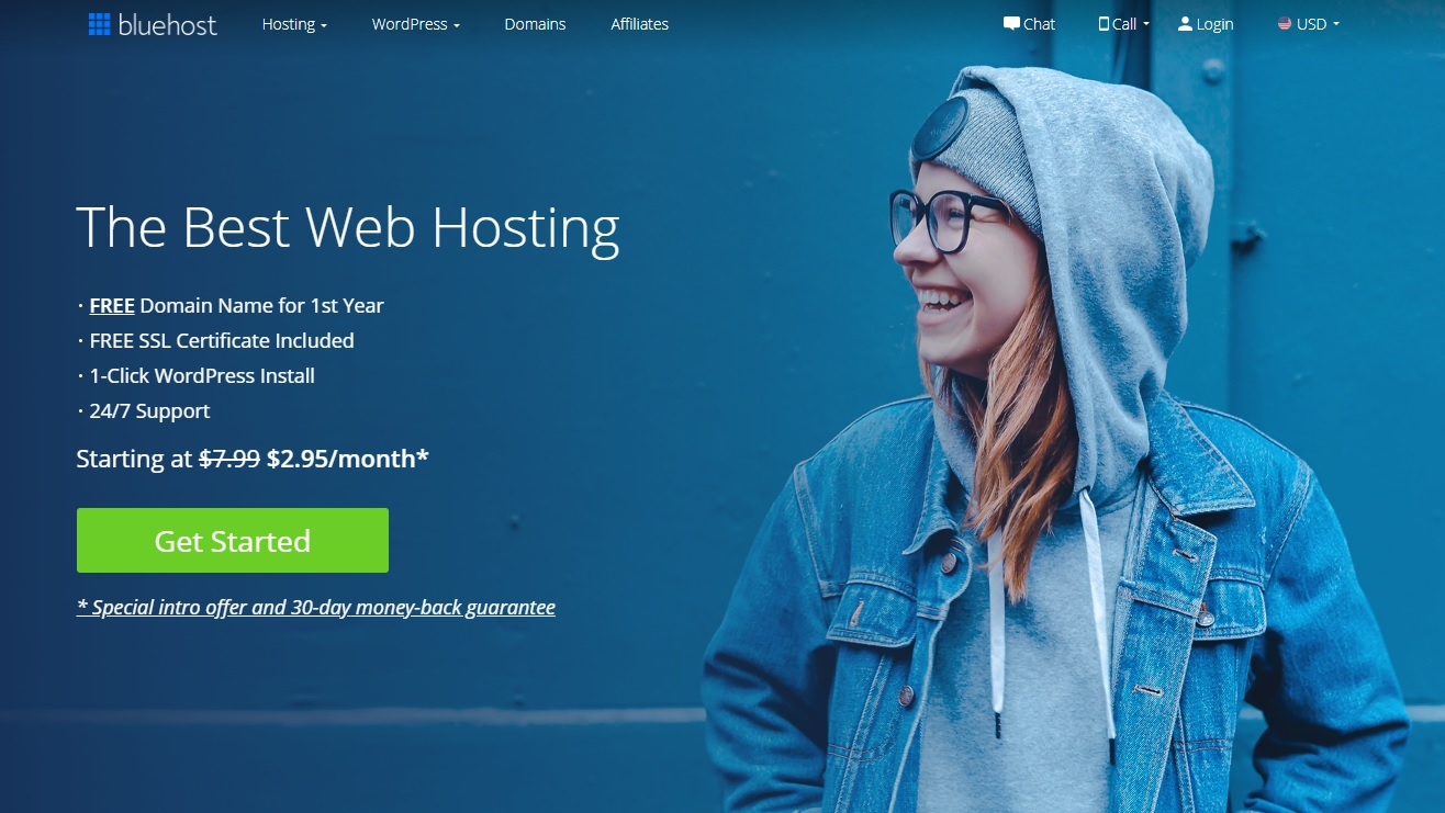 Bluehost #1 WordPress Hosting