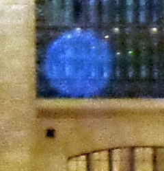 mysterious blue orb