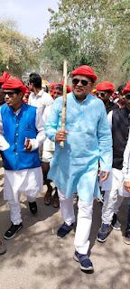 भगोरिया मेलो में झूले चकरिया नहीं लगने का जिला कांग्रेस अध्यक्ष महेश पटेल ने किया विरोध