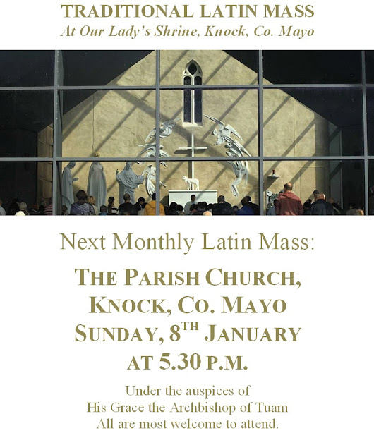 January 2017 Monthly Latin Mass in Knock