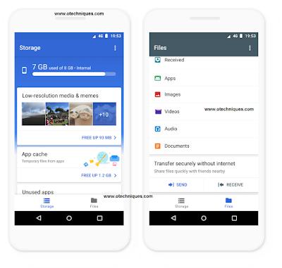 تطبيق Files Go يحصل علي مزايا جديدة من جوجل