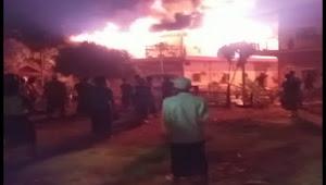 12 Kamar Santri Ponpes Al Istiqlaliyah Cilongok Tangerang Hangus Dilalap Api