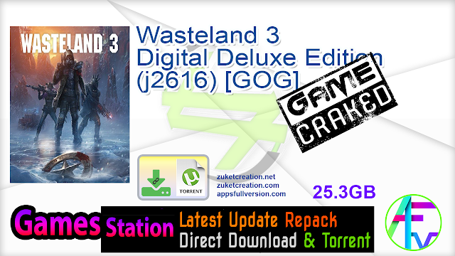 Wasteland 3 – Digital Deluxe Edition (j2616) [GOG] Cracked
