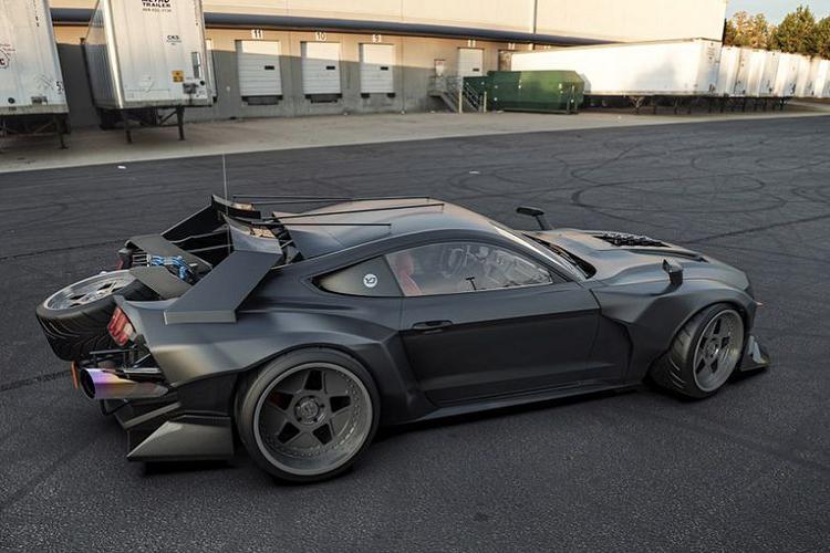 Ngắm siêu xe Ford Mustang 'bước ra' từ phim hành động