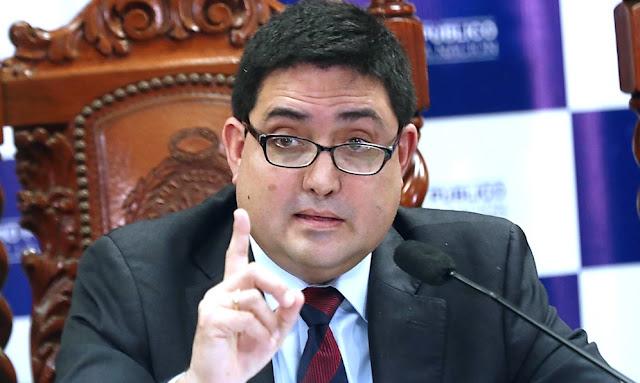 El procurador Ad Hoc del caso Lava Jato, Jorge Ramírez