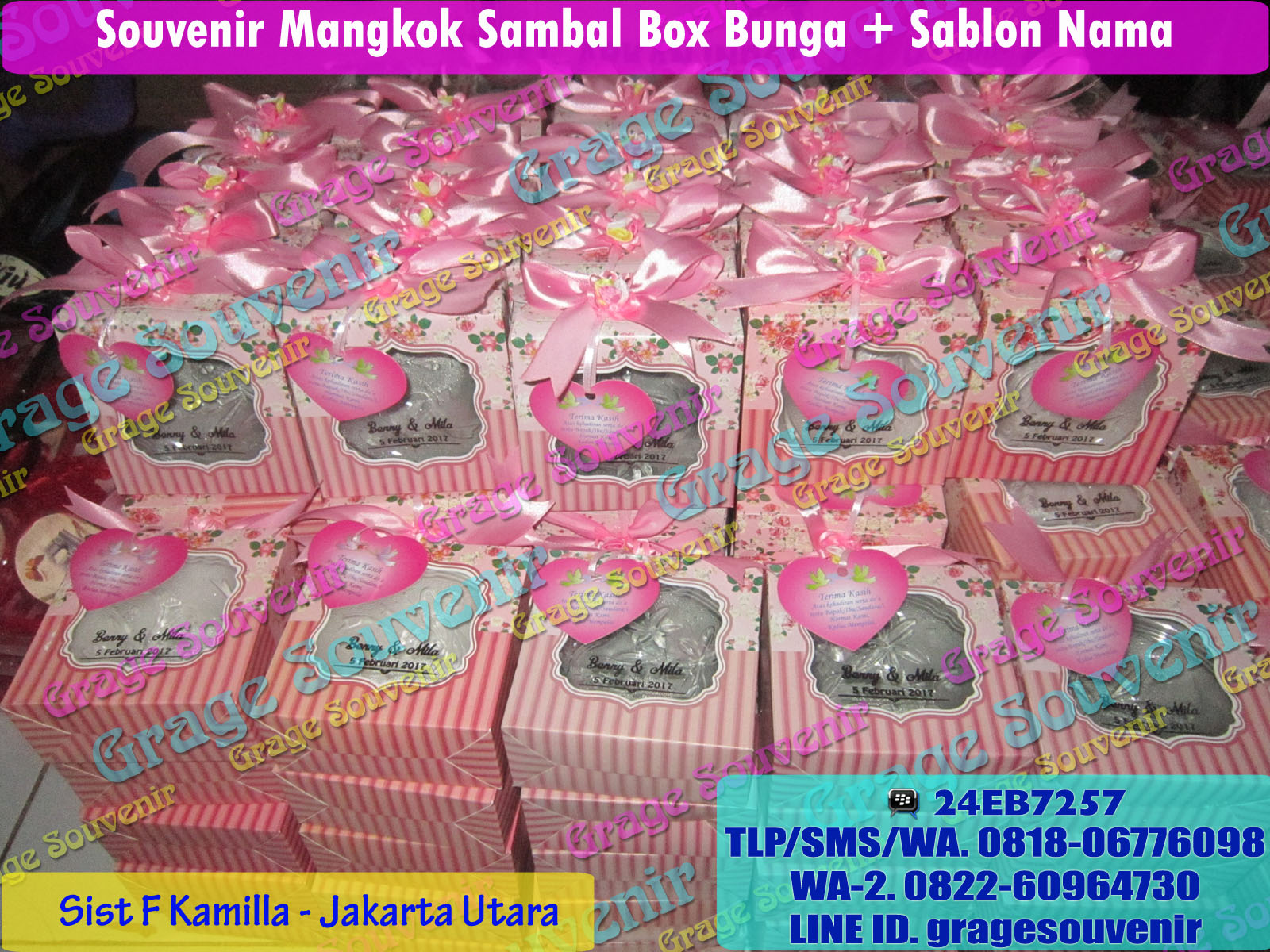 distributor souvenir mangkok sambal murah