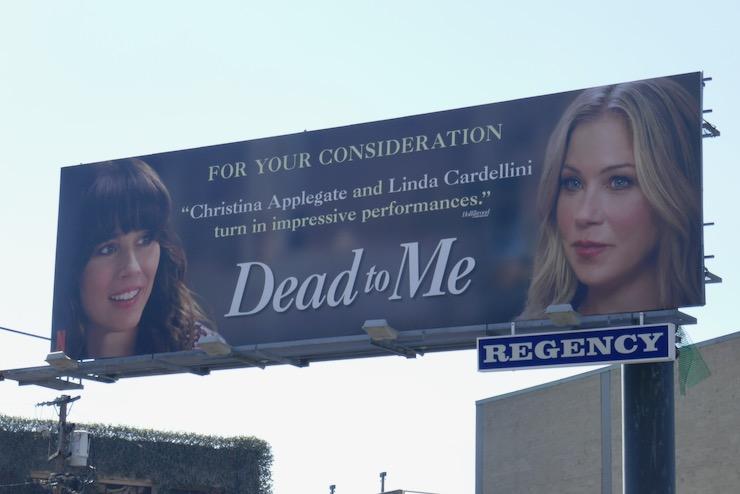 Dead To Me season 2 FYC 2021 billboard