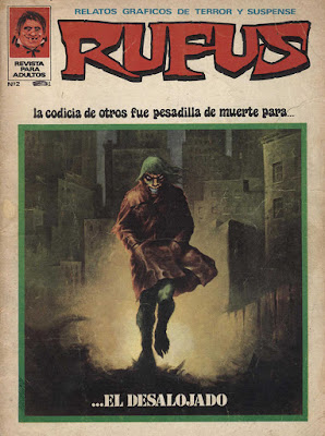 Portada de Rufus numero 2 1973