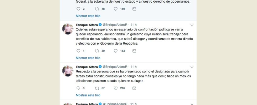 Se rebela gobernador electo de Jalisco a López Obrador
