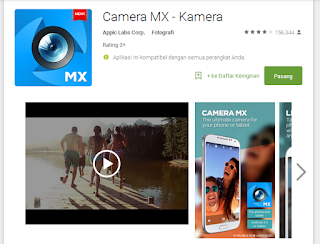 Camera MX dianggap sebagai kamera Point-and-Shoot integrasi smartphone Android.