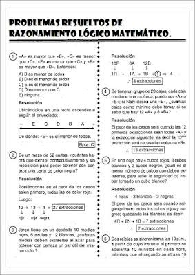 Cuaderno De Razonamiento Logico Matematico I Material Educativo