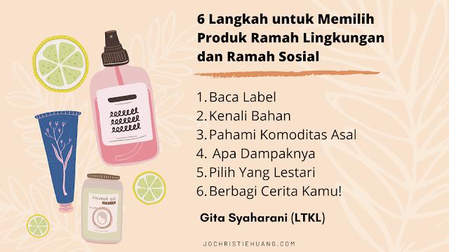 sustainable skincare produk kecantikan aman