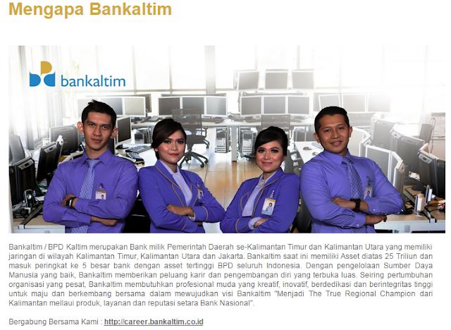 5 Lowongan Kerja BANK KALTIM Terbaru mulai Bulan September 2019