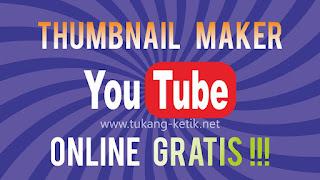 Cara buat thumbnail youtube secara online